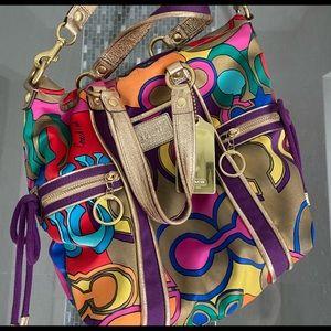 Coach Poppy Collection Shoulder Bag!!!